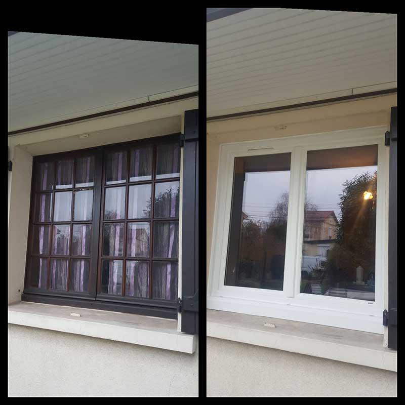 Conception de fenêtres PVC par RSM Rénovation