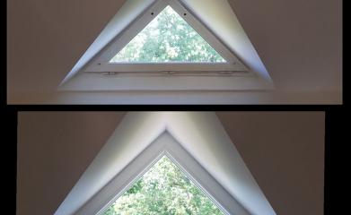 Une fenêtre PVC