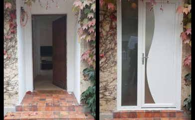 Porte d'entrée PVC Sannois image 3