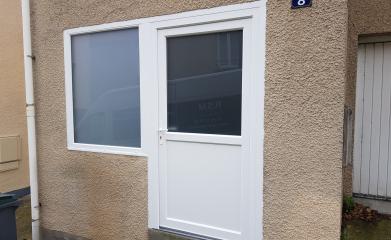 Porte fenêtre et fenêtre