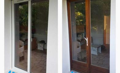 Porte fenêtre aluminium image 2